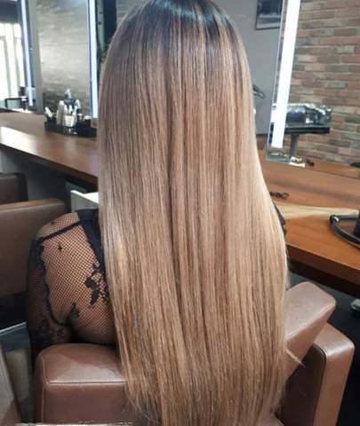 Welche Haarfarbe auf blondiertem haar?