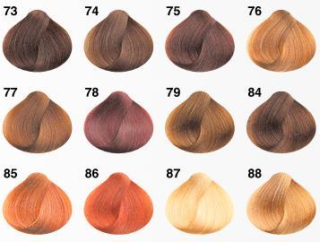 die ganzen haarfarben die in frage kommen würden - (Haare, Farbe, färben)