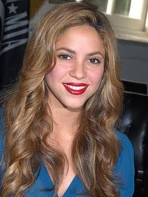 Shakiras Haarfarbe - (Haare, Haarfarbe, blond)