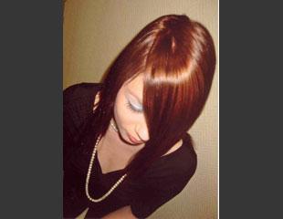 das ist die Haarfarbe - (Haare, färben)