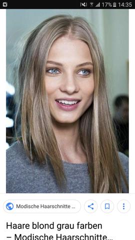 Welche Haarfarbe ist das und kann man das färben?