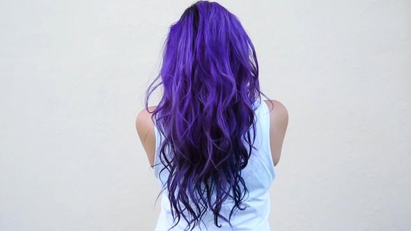 Haare blau lila images.dujour.com: 44