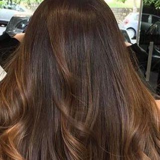Welche haarfarbe  ist das  - (Haare, Beauty, dunkelbraun)