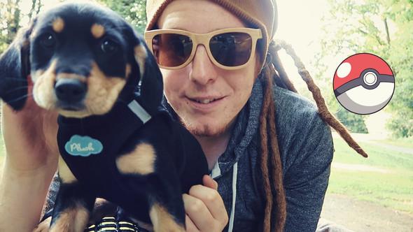 Das ist übrigens der Hund, falls es Leute gibt die unge/ungespielt nicht kennen. - (Youtube, Hund, youtuber)