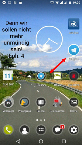 Hier die Unterschiede - (Android, Icon, Shiftphone)