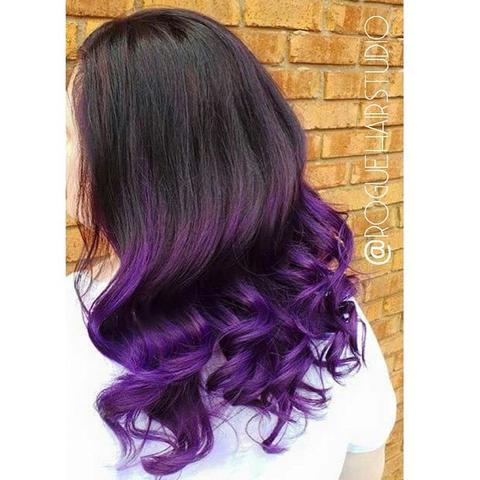 Welche Ist Die Beste Violette Haarfarbe Mädchen Haare Frisur