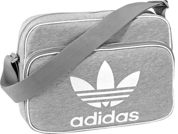 tasche in grau - (adidas-jacke, Adidas Tasche)