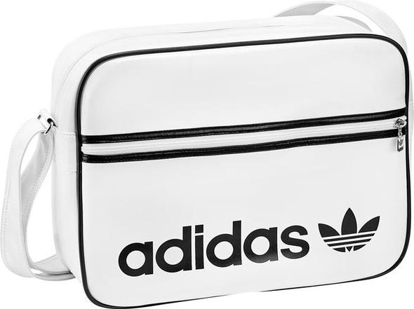 tasche in weiß - (adidas-jacke, Adidas Tasche)