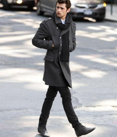 Winterjacke zu anzug