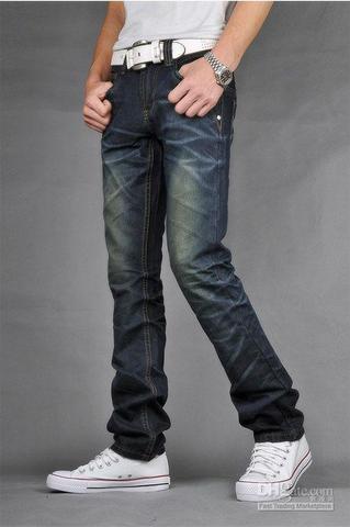 Slim Fit Jeans (3) - (Beine, Jeans, dünn)