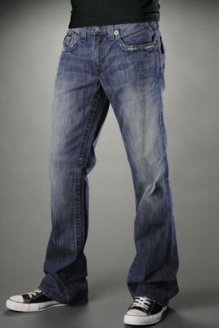Slim Bootcut Mens Jeans