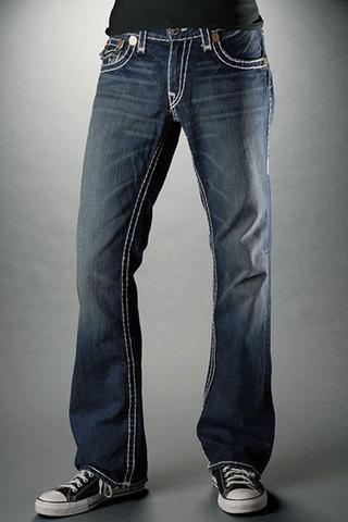 Bootcut Jeans (5) - (Beine, Jeans, dünn)