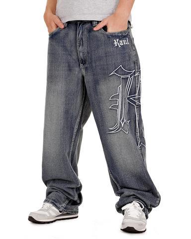 Baggy Jeans (6) - (Beine, Jeans, dünn)