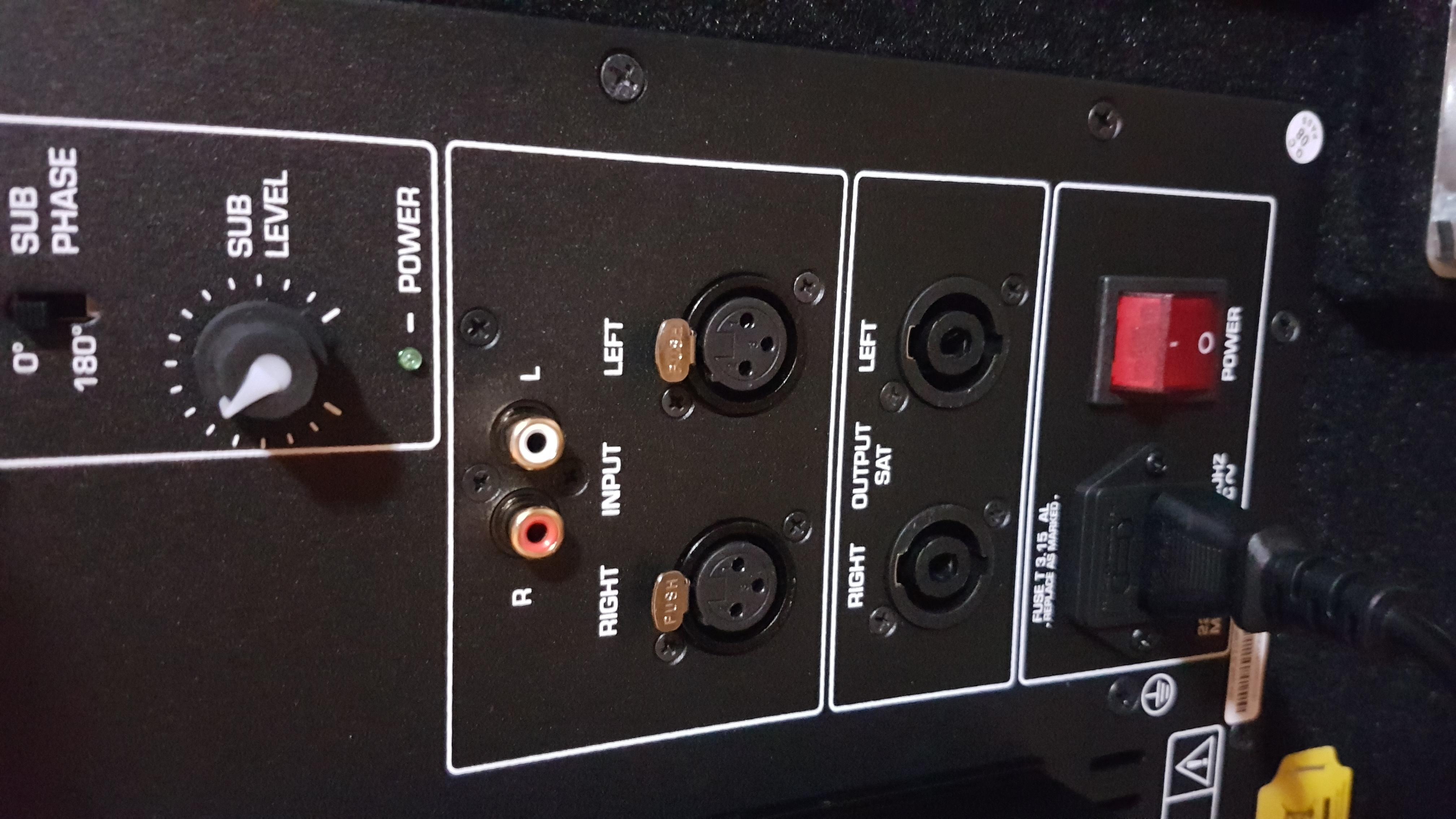 welche kabel benötige ich genau? (pa anlage)? (computer, musik, technik)