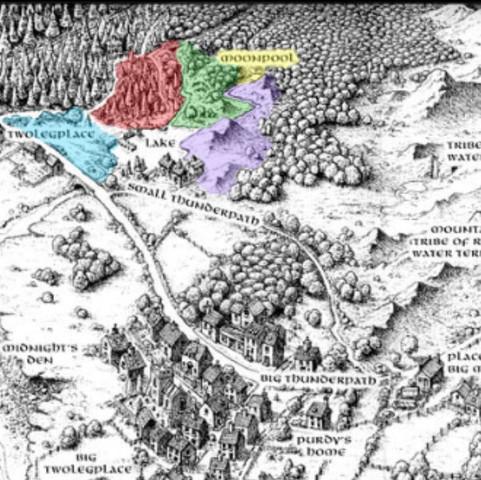 warrior cats karte Welche Karte ist das und woher kommt sie?(Warrior Cats)? (Karten)