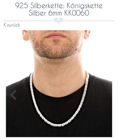 2. - (Schmuck, Silber, koenigskette)