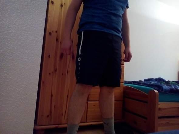 Welche kurze Hose sieht am besten aus?