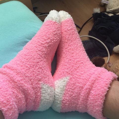 Bild 1 - (Socken, Kuschelsocken)