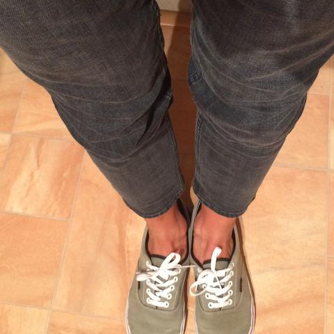 Vans..  - (Mädchen, Mode, Jeans)