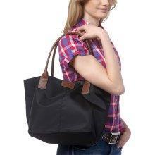 Welche Marke Ist Die Originale Blau Braune Tasche Aus Stoff Leder