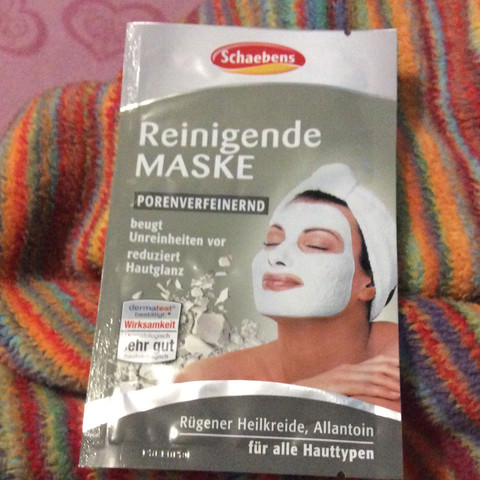 Ich hab ja Poren und Unreinheiten deswegen wäre die gut  - (Maske, Mitesser)