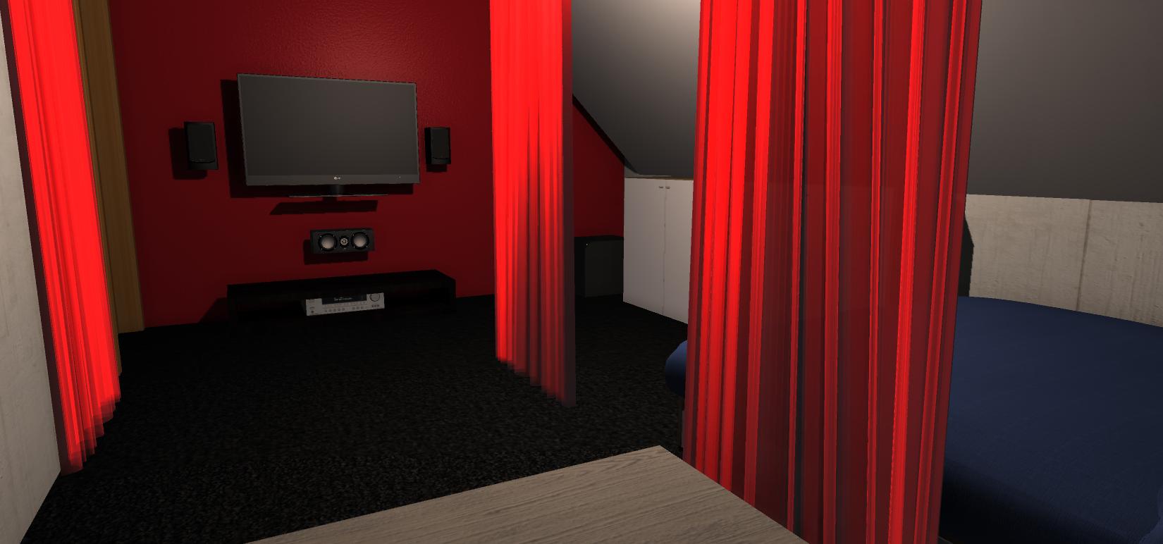 heimkino akustik w nde v rias id ias de. Black Bedroom Furniture Sets. Home Design Ideas