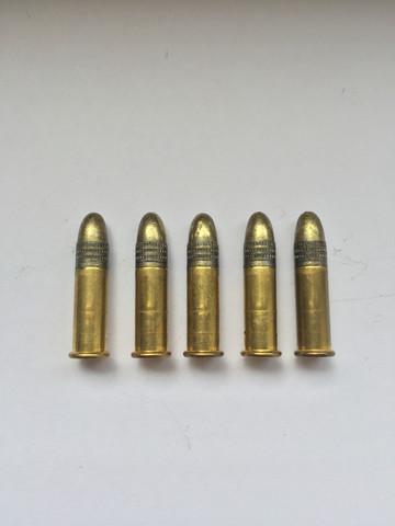 Die kleinen Patronen  - (Pistole, schießen, Jagd)