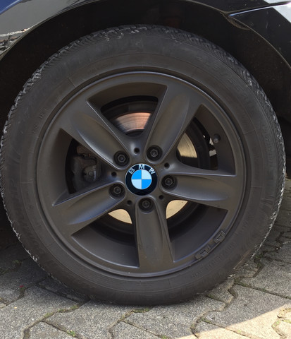 Blau - (Auto, BMW, Felgen)