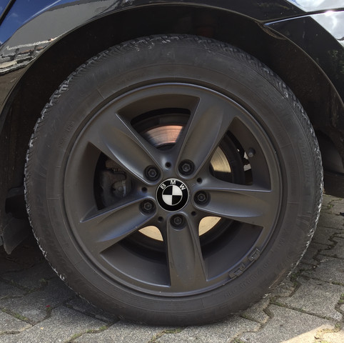 Schwarz - (Auto, BMW, Felgen)