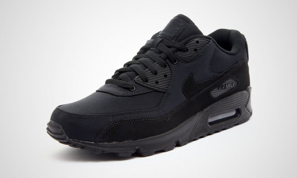 schwarze nike air max 90. Black Bedroom Furniture Sets. Home Design Ideas