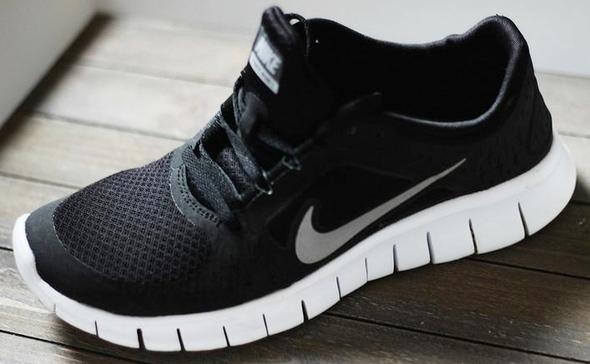 Nike Free 5.0 Schwarz Altes Modell