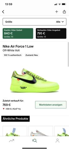 Welche Off-White x Nike Air Force 1 findet ihr schöner?