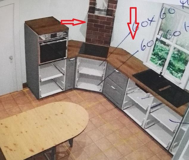 welche reihenfolge beim k chenbau k che holz handwerker. Black Bedroom Furniture Sets. Home Design Ideas