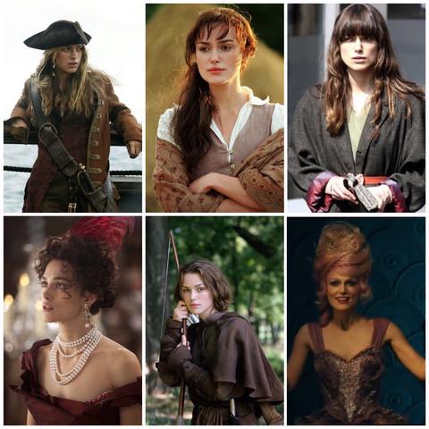 Welche Rolle von Keira Knightley findet ihr am besten?