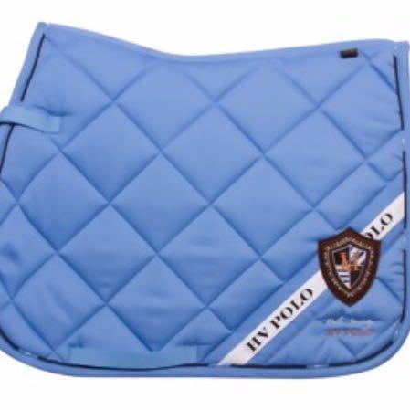 Blaue Schabracke  - (Pferde, Farbe, Schabracke)