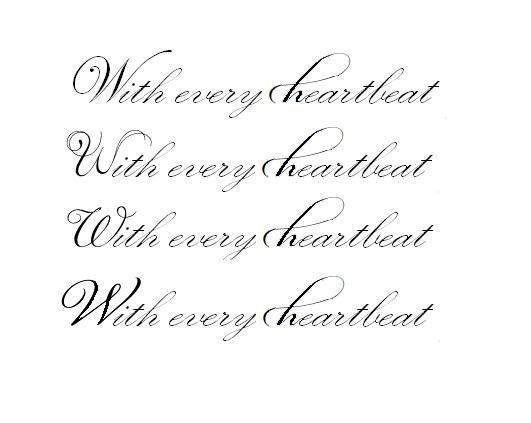 Welche Schriftart Am Besten Fur Ein Tattoo Schrift