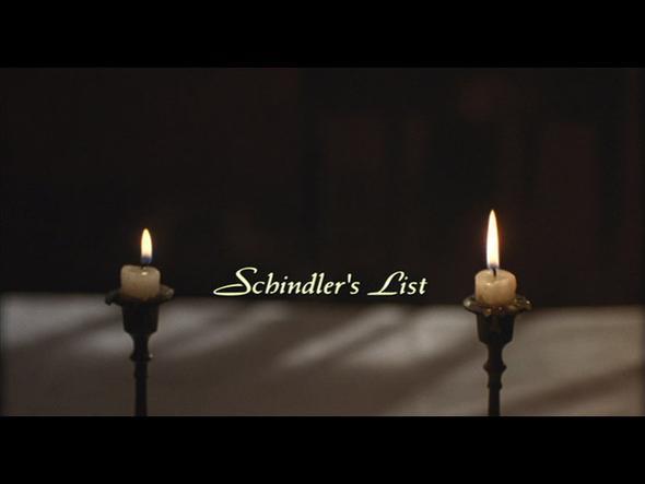 Schindlers Liste Titlescreen - (Schrift, Schriftart, Font)