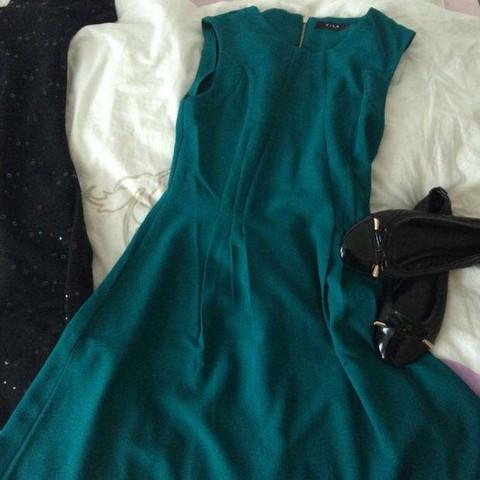 knie langes kleid - (Schuhe, Style, Kleid)