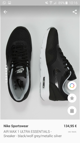 nike air max 1 ultra essential  - (Schuhe, Nike)