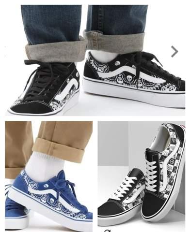 Welche Schuhe gefallen euch besser (Vans)?