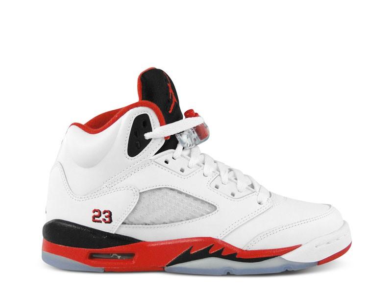 Nike Air Jordan Weiß Rot