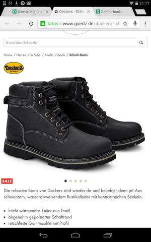 Dockers/Schwarz - (Schuhe, Winter)