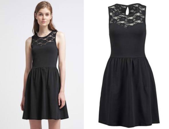 Kleid und schuhe ton in ton