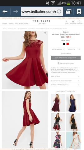 Welche schuhe zum roten kleid