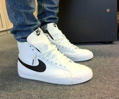 Nike Blazer Schwarz Weiß