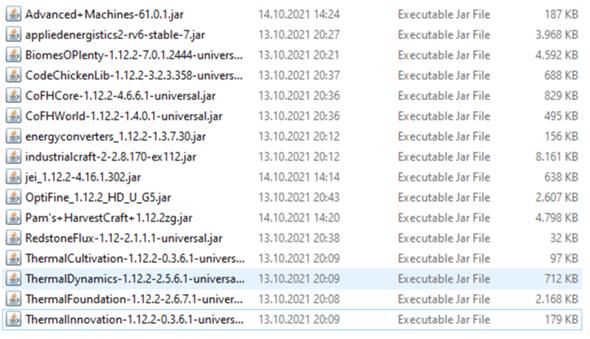 Welche Server-Konfiguration (Mods, Nitrado)?