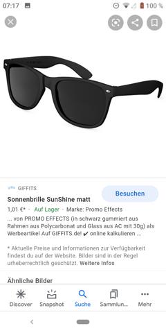 Welche Sonnenbrille?