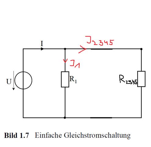 Gleichstromschaltung2 - (Strom, Universität, Elektrotechnik)