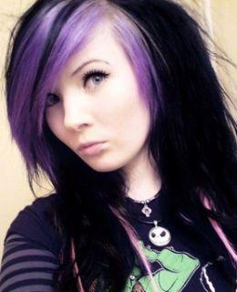 welche stelle im haar bunt lassen haare ideen haarfarbe