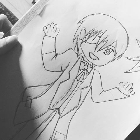 Selbst gemacht 😌 Wie ihr sieht bin ich noch ziemlich am Anfang.  - (Anime, Manga, zeichnen)